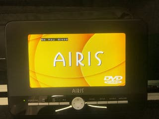 "Reproductor dvd y usb AIRIS 7"" portatil"