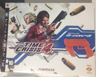 Time crisis 4 juego pistola