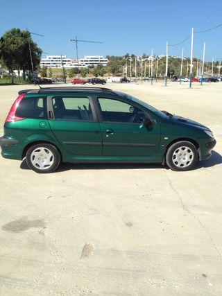 Peugeot 206 estate, 1.4 petrol, 71000 genuine mile