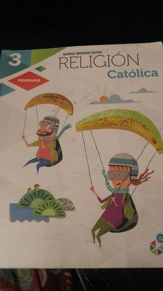 Libro escolar religión catolica 3 primaria