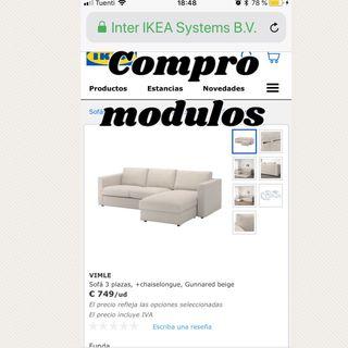 Sofa Vimle ikea & sillas tobias