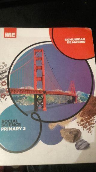 Libro escolar social science 3 primaria