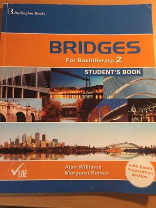 Libro inglés Bridges 2 bach