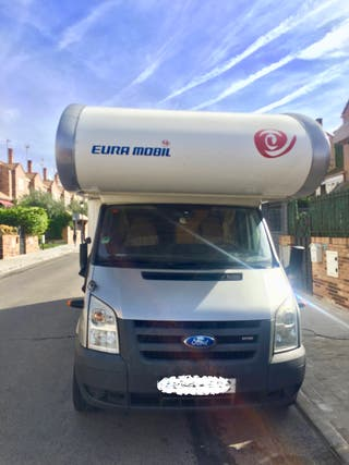 Autocaravana Euramobil.