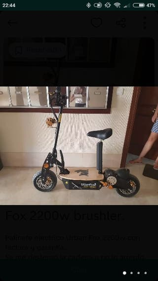 Scooter Electrico 2200 W