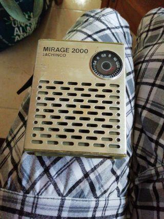 radio antigua Mirage 2000