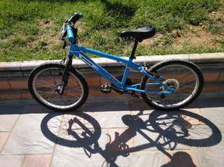 Bicicleta niño 6-8años rueda de 20pulgadas