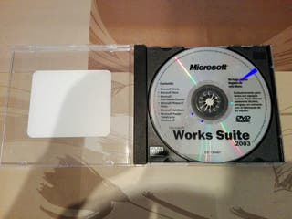 Microsoft Works Suite 2003 - DVD-ROM