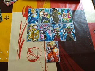 9 Carddass Dragon Ball Super