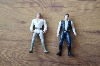Star Wars kenner 1995 Han Solo Luke figuras