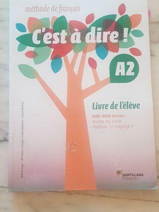 C'EST A DIRE A2 ELEVE +DVD-ROM .ISBN:9788492729678