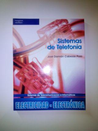 Libros de telefonía y montaje (electricidad)
