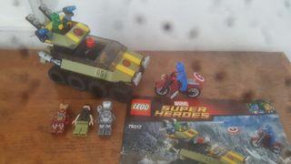 Lego marvel 76017 mas figuras originales