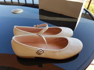 zapatos niña comunion.Numero 33