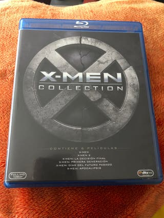 X-MEN COLECCION blu ray