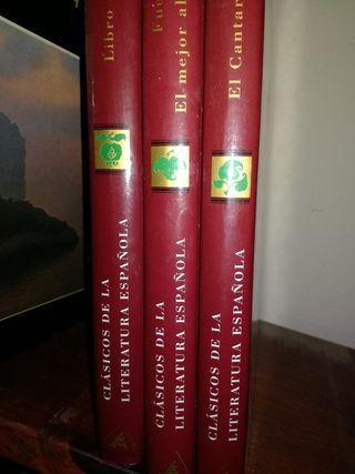 Libros colecc. clásicos de la literatura española