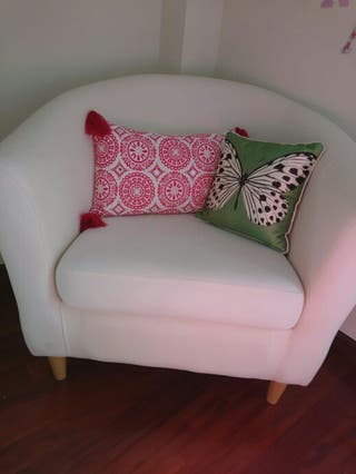sillon blanco/color crudo