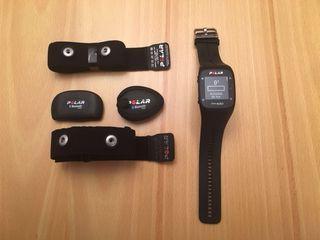 Reloj Polar M400 con banda y sensor cadencia