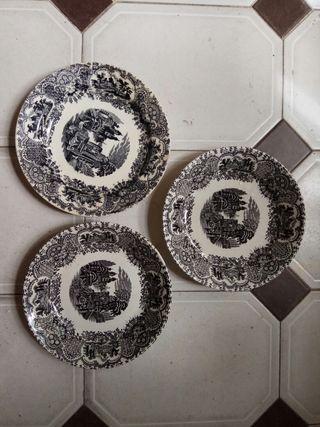 platos de la cartuja Sevilla