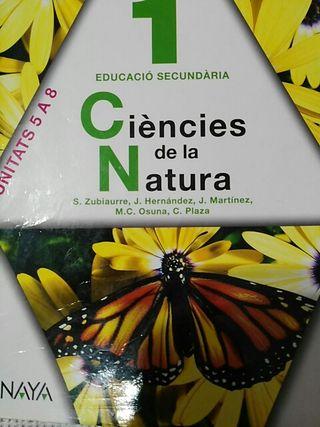 Libro Ciencias de la natura