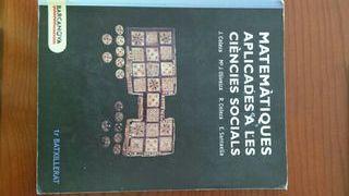 Llibre de matemàtiques 1r batxillerat social