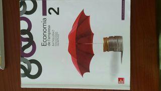 Llibre d'Economia 2n batxillerat