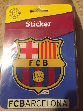 Pegatina del F.C Barcelona