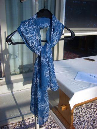 pañuelo azul, nuevo