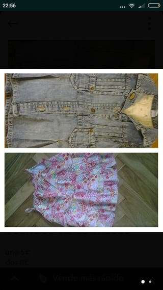 3 vestidos 12-18 meses