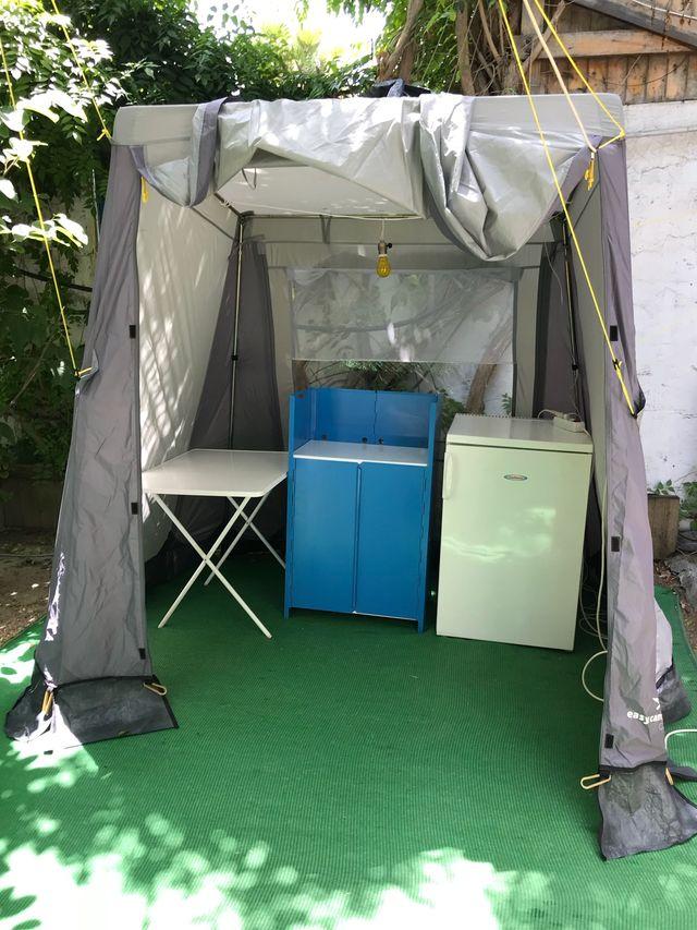 9b2deeabd42 Carpa toldo cocina camping de segunda mano por 80 € en Fuengirola en ...