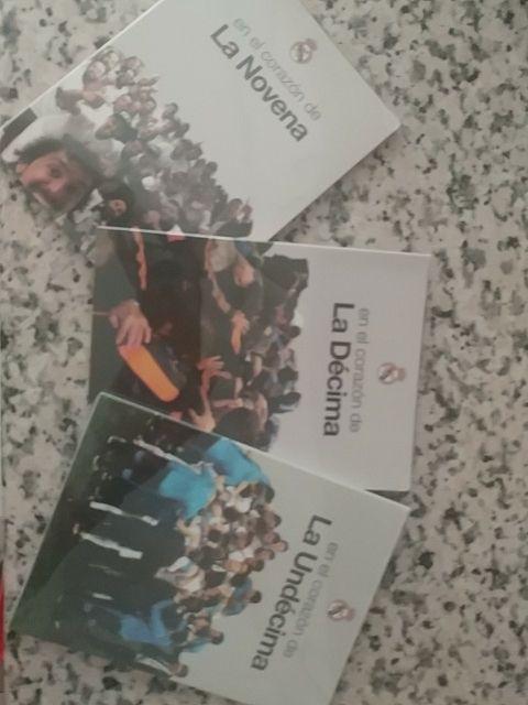 """Colección Dvds Real Madrid """" En el corazon de..."""""""