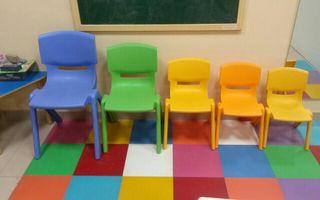 sillas infantiles y para adultos