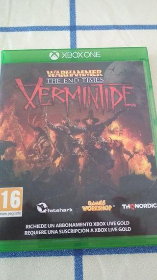 WARHAMMER VERMINTIDE XBOX ONE