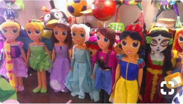 Piñatas Fiesta De Cumpleaños Decoración De Segunda Mano Por