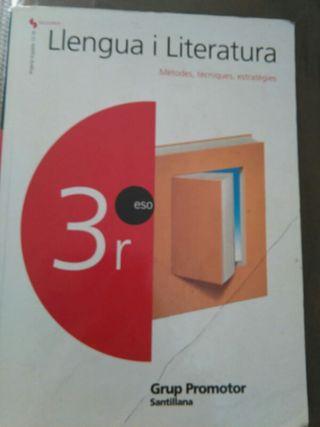 Libro 3° Eso llengua i literatura