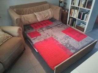 Sofá cama + sillón reclinable !!!