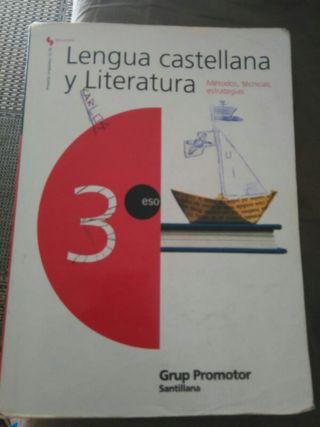 Libro 3° Eso Llengua Castellana y literatura