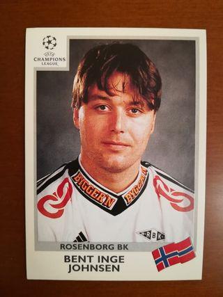 Panini UEFA CL 99/00 cromo #75 Inge - Rosenborg