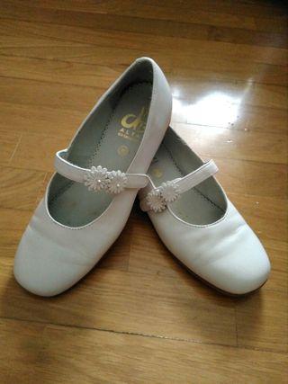 Zapatos niña piel 38