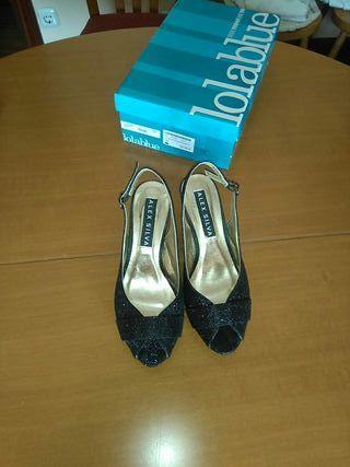 Zapatos de fiesta con plataforma de segunda mano en