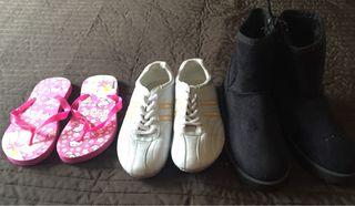 Botas y deportivas