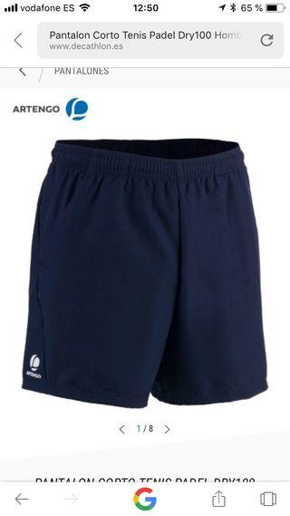 Padel De Hombre Corto Mano Por Tenis Pantalon Dry100 Segunda Artengo gqAfnn7wF1