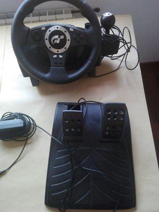 Volante consola GT PS3-4-PC