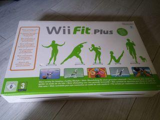 Tabla wii fit + juego