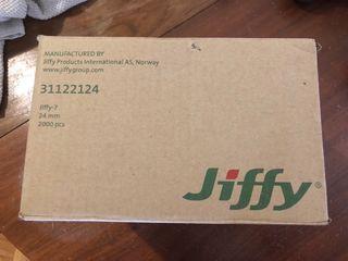 Caja de jiffy 24 mm