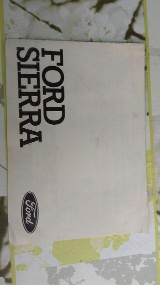 Manuales Ford Sierra
