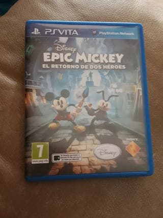 Epic Mickey el retorno de dos héroes PS VITA