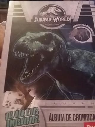 Tarjetas jurassic world dia