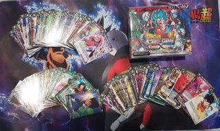 Lote de Dragon ball Super cardgame