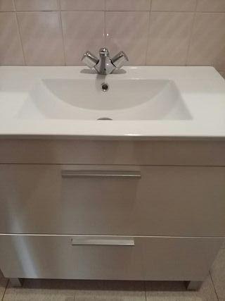 mueble baño de 80 cm + espejo